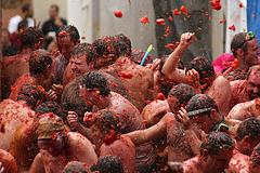 Valencia tomato festival