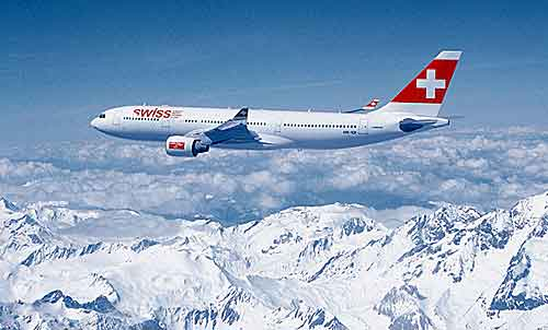 Swiss Airline Wallpaper