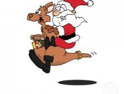 Kangaroo christmas