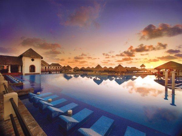 Now cancun riviera maya resorts sunset view all inclusive