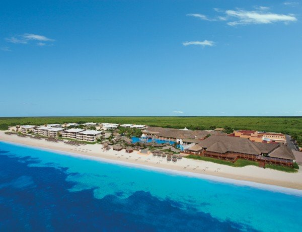 aerial beach now cancun all inclusive resorts beach