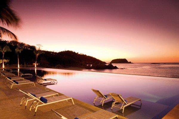 dreams beach mexico all inclusive sunset