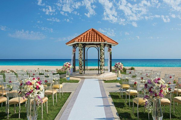 dreams los cabos mexico wedding gazebo all in