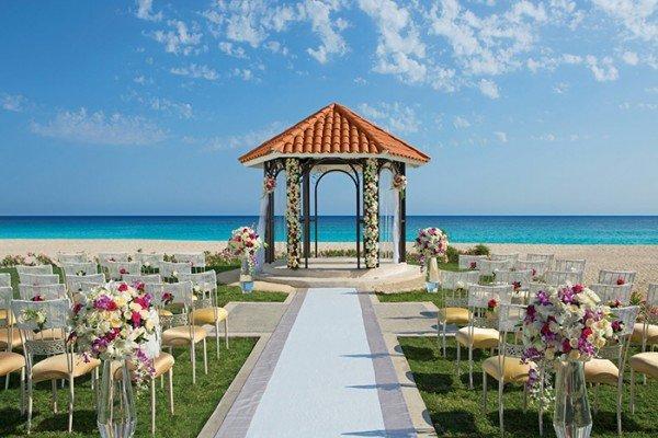 dreams los cabos mexico wedding gazebo all in