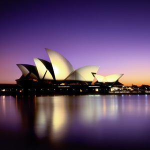 Sydney Opera House,Night view