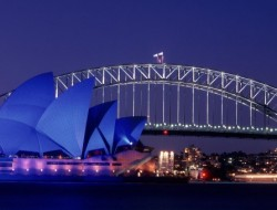 DUA sensational sydney harbor opera house dusk australia