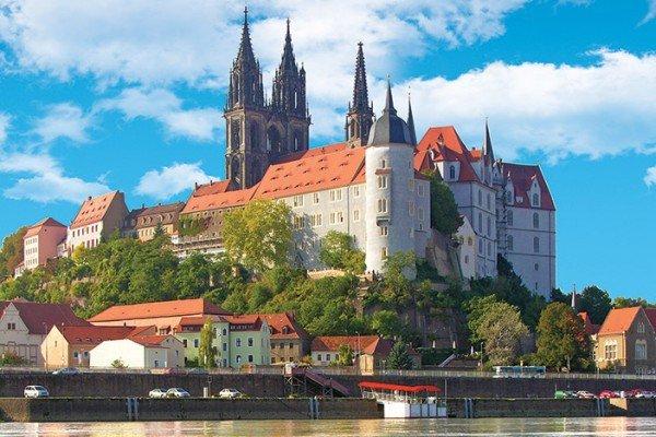 Meissen Elbe River Viking Germany