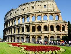 Paris & Rome Vacations w/Air rome colesseum gate 1