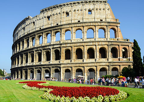 Paris & Rome Vacations w/Air rome colesseum gate 1