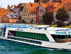 Why share a cabin when you can each have your own Ama Cello river cruise ship