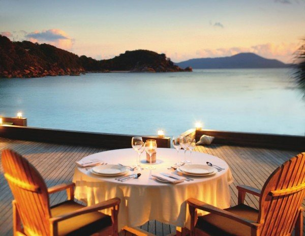 bedarra resort au dining