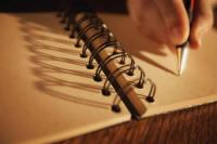 paper spiral notebook