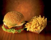 food burger fris